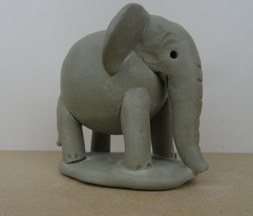 Double thumb pot elephant.