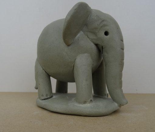 Double thumb pot elephant.