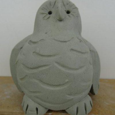 Double thumb pot owl.